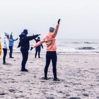 Primavera Jastrzębia Góra aktywność fizyczna nad morzem