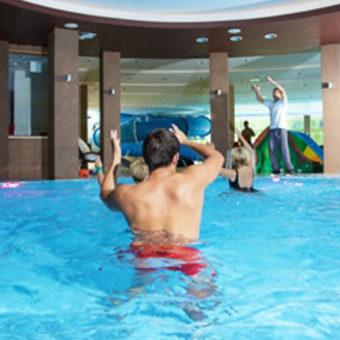 Primavera Jastrzębia Góra ćwiczenia w wodzie