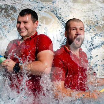 Primavera Jastrzębia Góra zabawy w wodzie