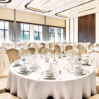 Primavera Jastrzębia Góra piękna sala bankietowa w hotelu nad morzem